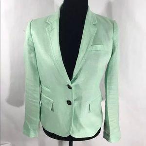 J Crew saint green schoolboy blazer